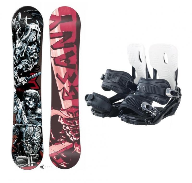 Snowboard s vázáním Beany