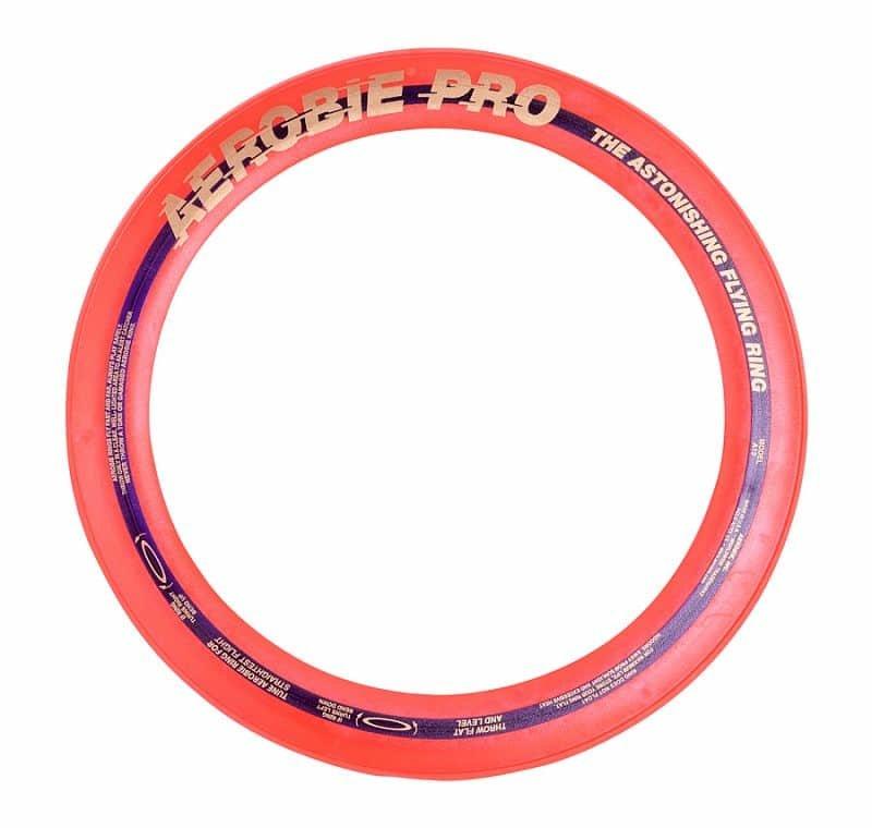 Oranžový plastový létající kruh Aerobie - průměr 33 cm