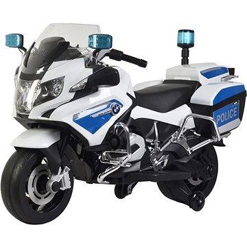 Bílá dětská elektrická motorka BMW R1200, Buddy Toys