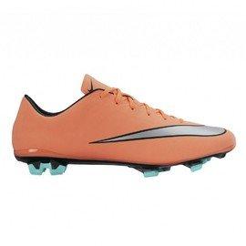 Oranžové kopačky lisovky MERCURIAL VELOCE II FG, Nike - velikost 42 EU