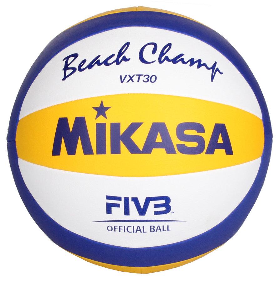 Různobarevný volejbalový míč VXT 30, Mikasa - velikost 5