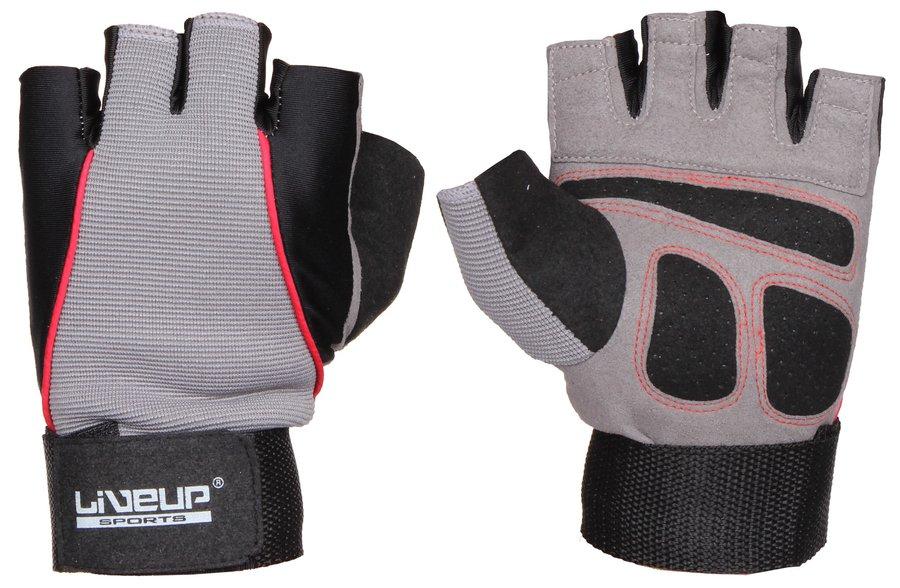 Fitness rukavice - LiveUp TG-1 L-XL