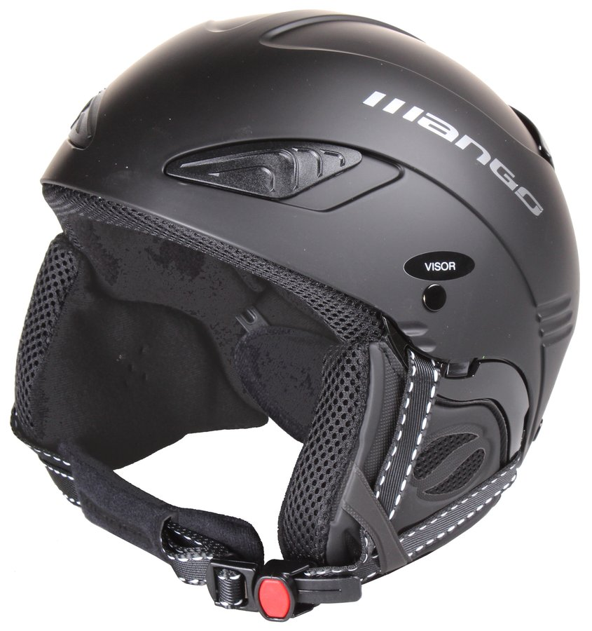 Černá lyžařská helma Wind Free, Mango - velikost 53-55 cm