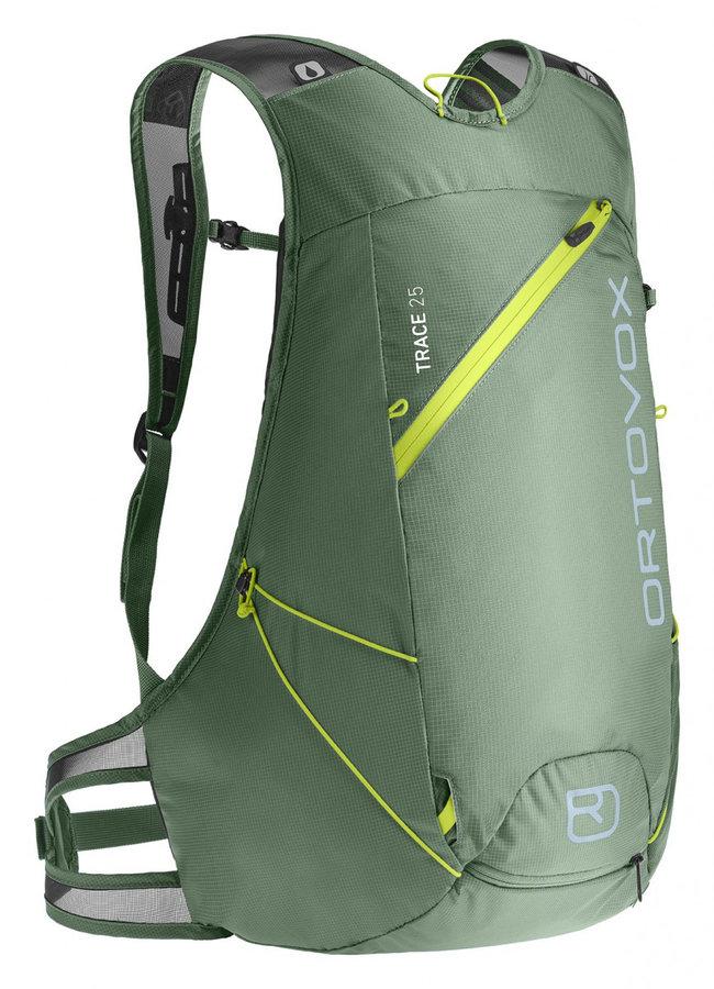 Zelený skialpový batoh Ortovox - objem 25 l
