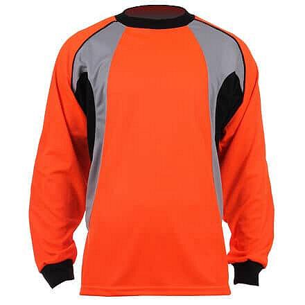 Oranžový brankářský fotbalový dres GO-3, Merco - velikost XL
