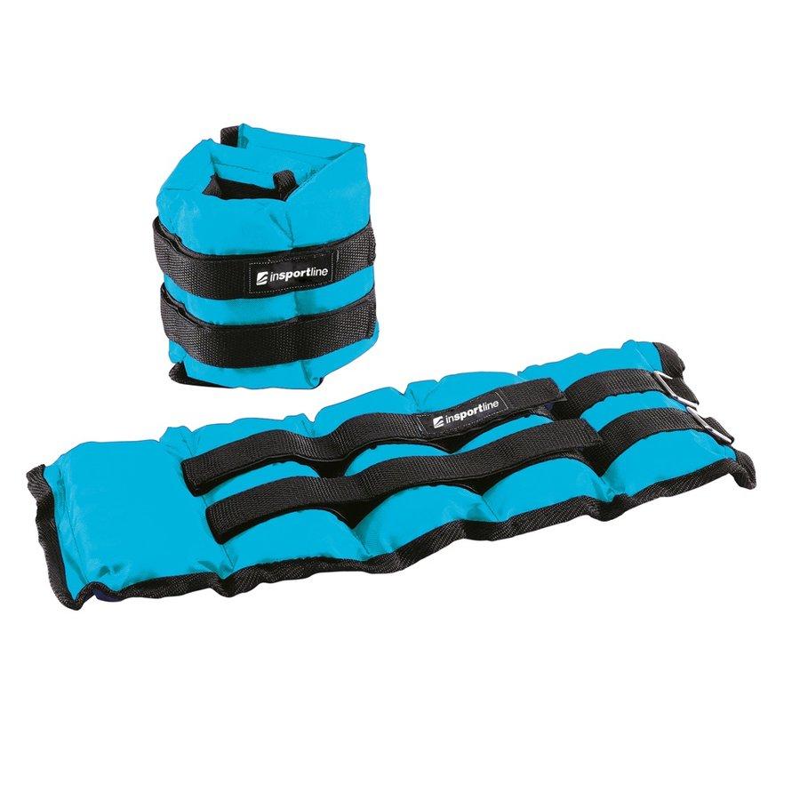 Modré závaží na ruce a nohy inSPORTline - 2 kg