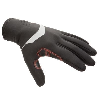 Černé neoprenové rukavice 900, Tribord