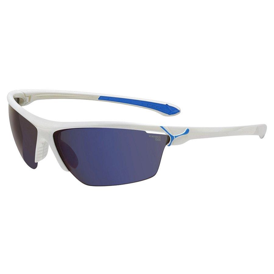 Bílo-modré cyklistické brýle Cinetik, CÉBÉ