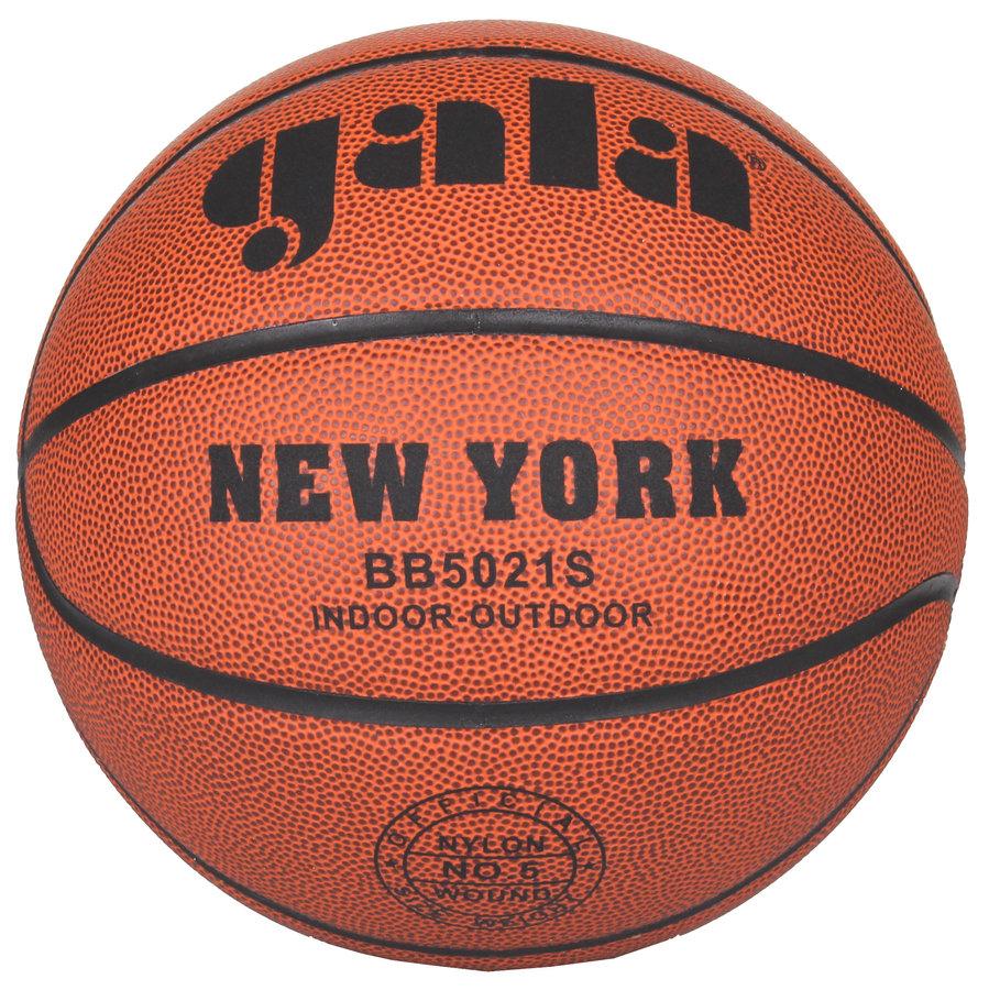 Oranžový basketbalový míč New York, Gala - velikost 5