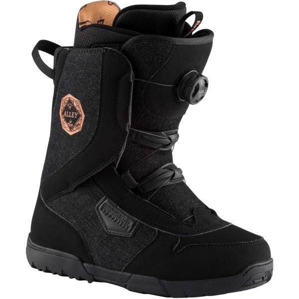 Černé dámské boty na snowboard Rossignol