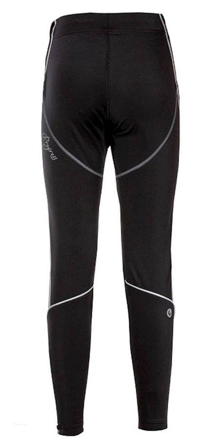 Černo-šedé dámské kalhoty na běžky Progress - velikost S