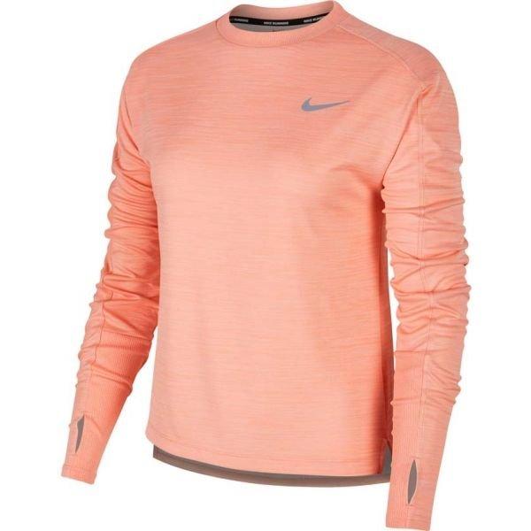Růžové dámské běžecké tričko Nike