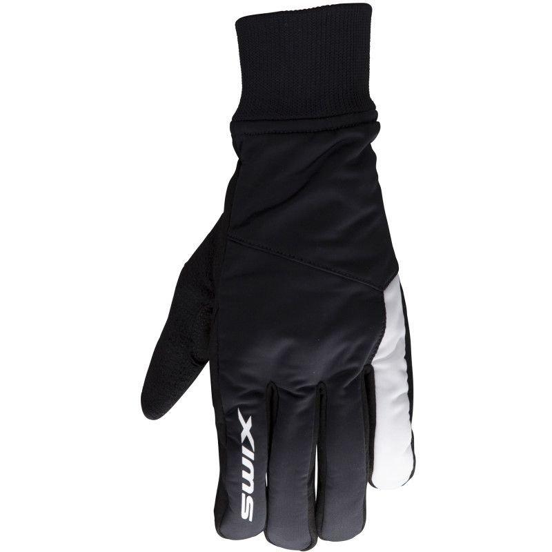 Černé rukavice na běžky Swix - velikost M