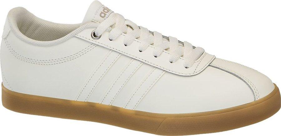 Bílé dámské tenisky Adidas - velikost 41 1/3 EU