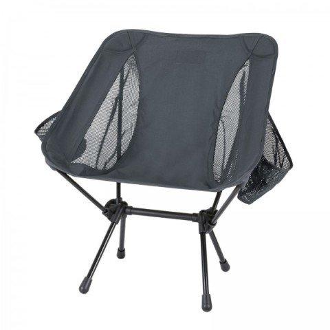Kempingová židle - Židle RANGE CHAIR® skládací ŠEDÁ