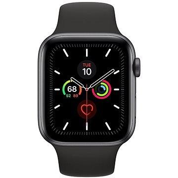 Černé chytré pánské hodinky Watch Series 5, Apple
