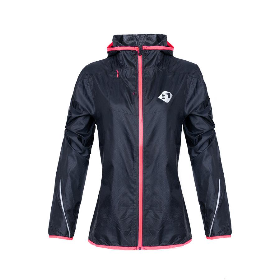 Modrá dámská běžecká bunda s kapucí Imotion, Newline - velikost XS