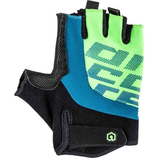 Modro-zelené cyklistické rukavice Arcore