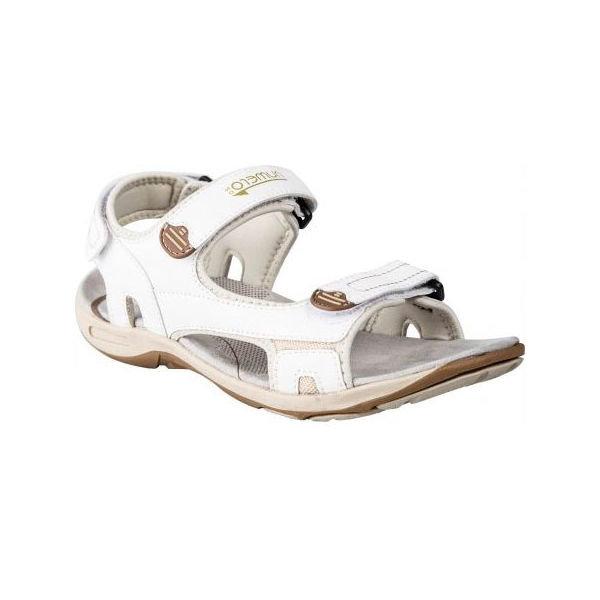 Bílé dámské sandály Numero Uno