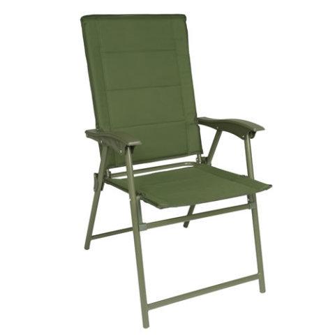Kempingová židle - Židle ARMY skládací ZELENÁ