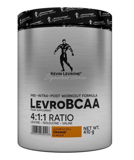 BCAA - Levro BCAA 4: 1: 1 - Kevin Levrone 410 g (60 dávok) Lemon