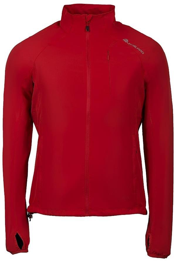 Červená pánská bunda Alpine Pro