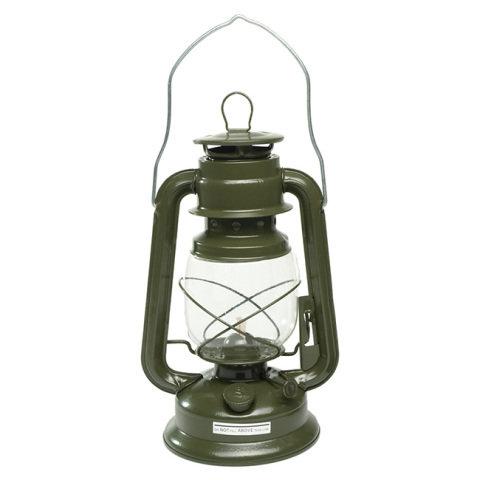 Zelená petrolejová lampa MIL-TEC