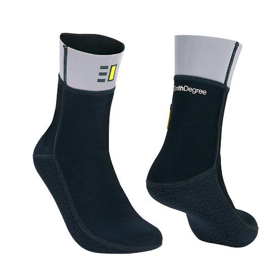 Bílo-černé neoprenové ponožky F3, Fernotherm
