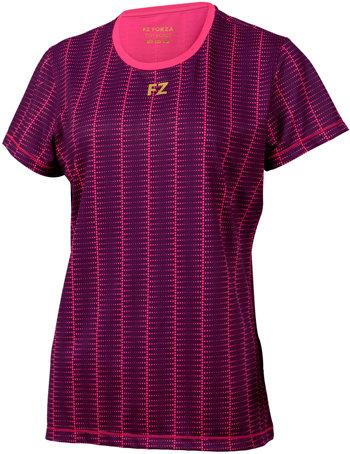 Fialové dámské funkční tričko s krátkým rukávem FZ Forza