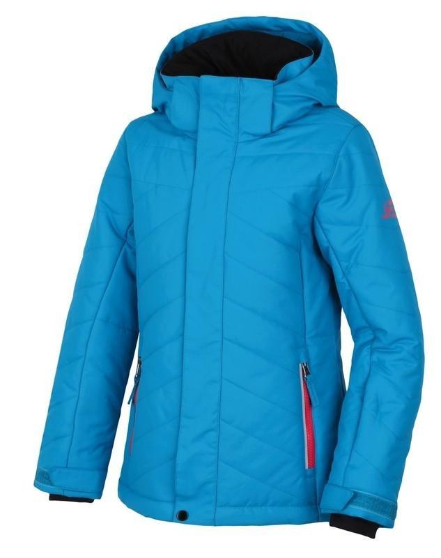 Modrá dívčí lyžařská bunda Hannah - velikost 128