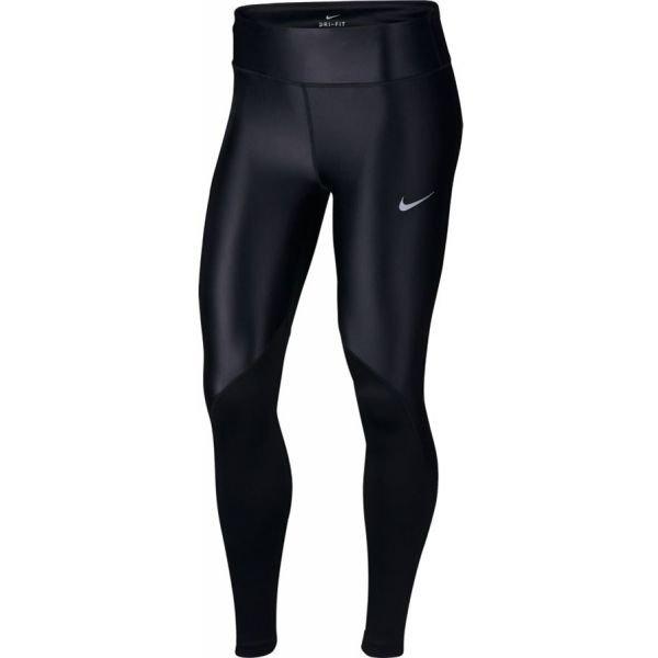 Černé dámské běžecké legíny Nike - velikost XS