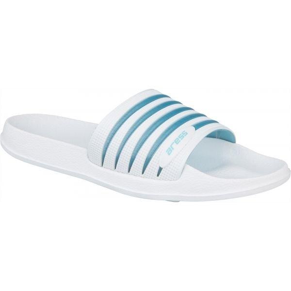 Bílé dámské pantofle Aress