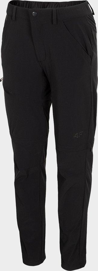 Černé dámské turistické kalhoty 4F - velikost S