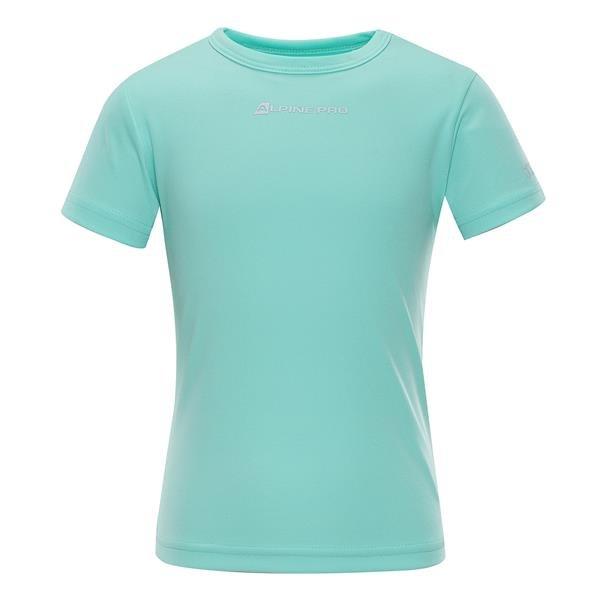 Zelené dětské tričko s krátkým rukávem Alpine Pro - velikost 92-98