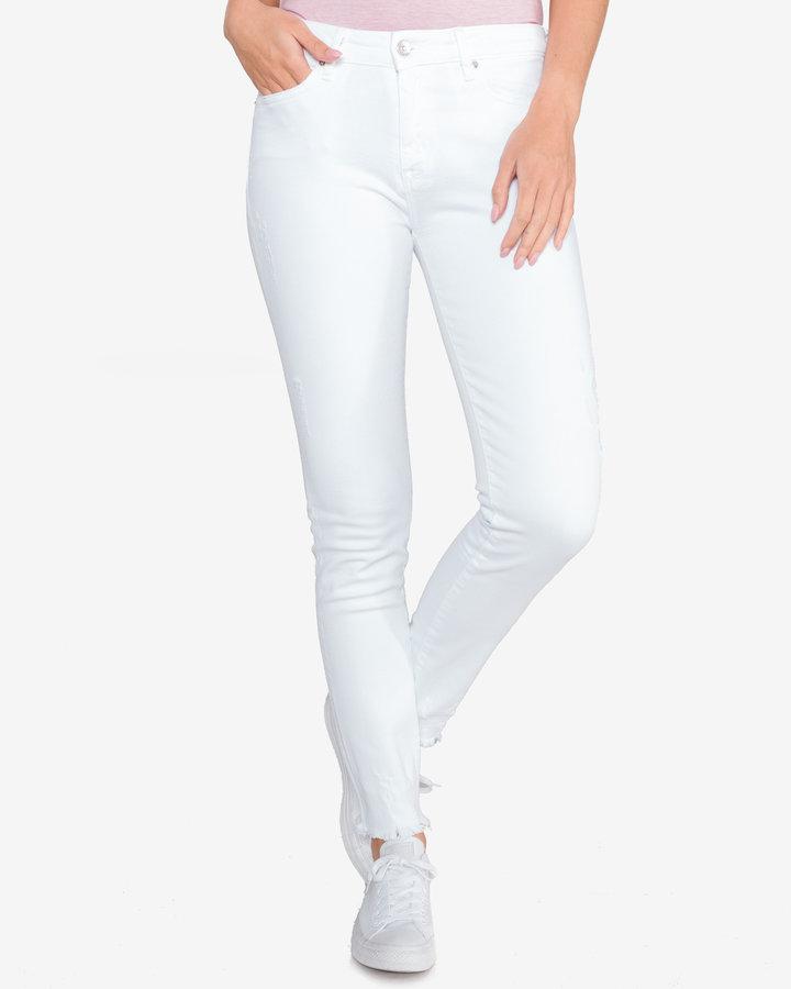 Bílé dámské džíny Tommy Hilfiger