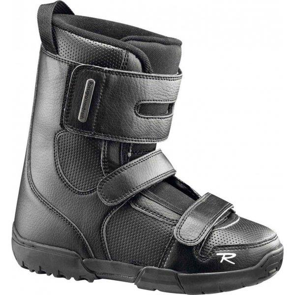 Černé dětské boty na snowboard Rossignol
