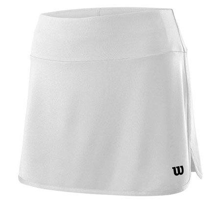 Bílá dámská tenisová sukně Wilson