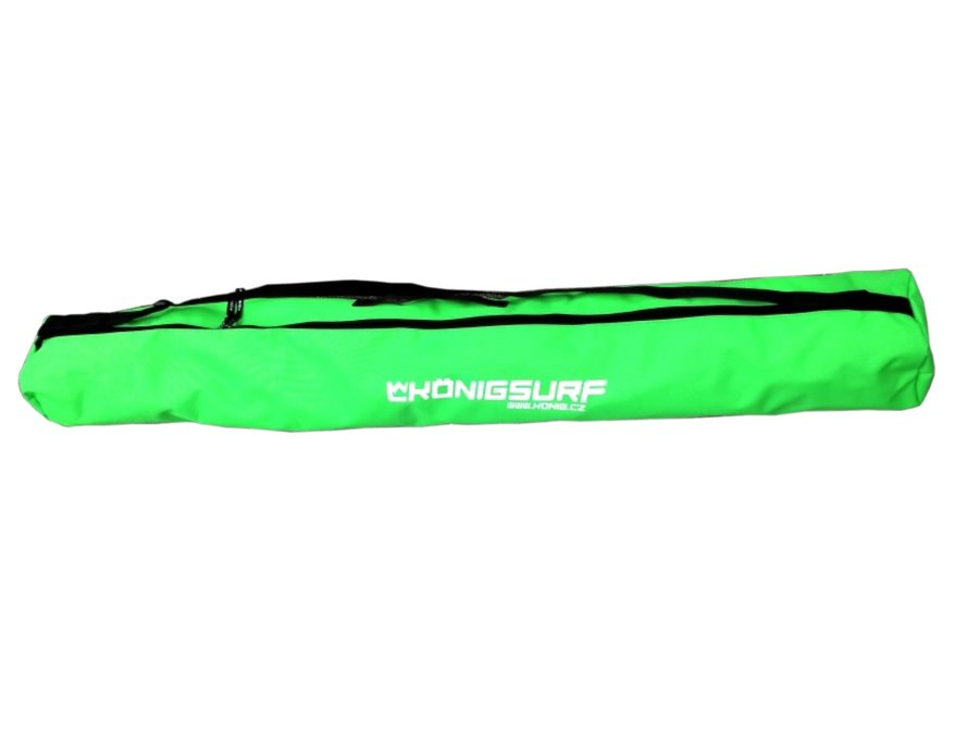 Zelený vak na lyže König