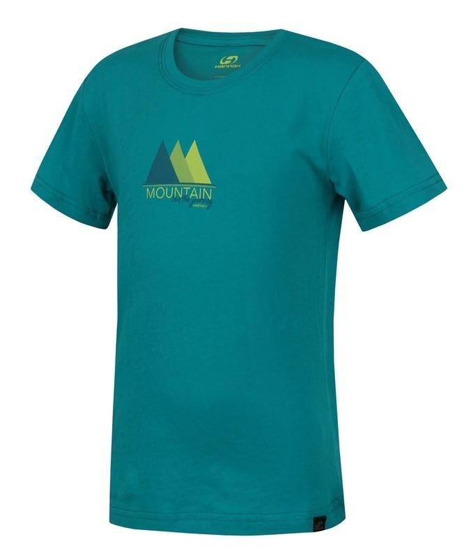 Zelené dětské tričko s krátkým rukávem Hannah - velikost 128