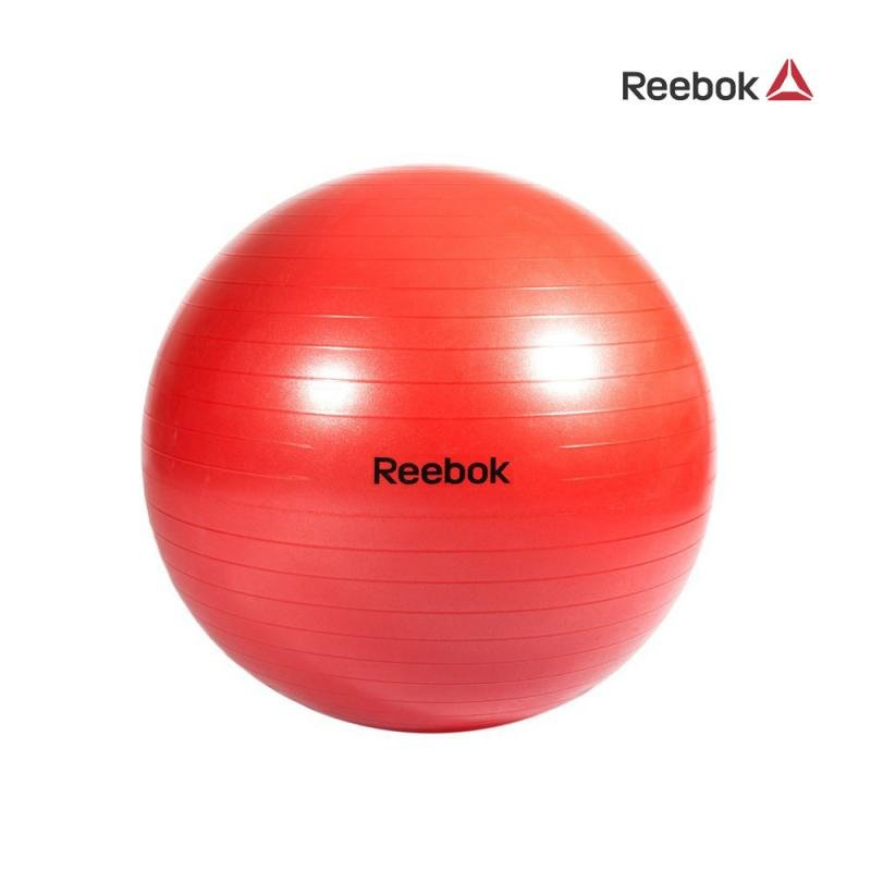 Červený gymnastický míč Reebok - průměr 65 cm