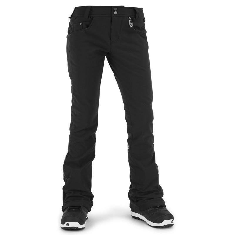 Černé dámské snowboardové kalhoty Volcom - velikost L