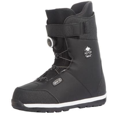 Černé pánské boty na snowboard Wed'ze