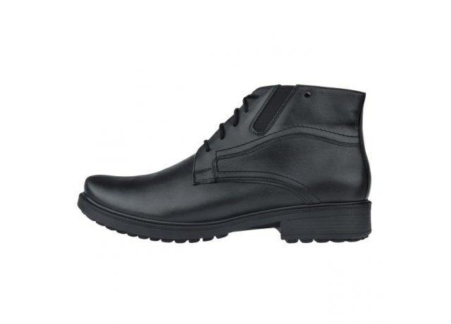 Černé pánské zimní boty Barton