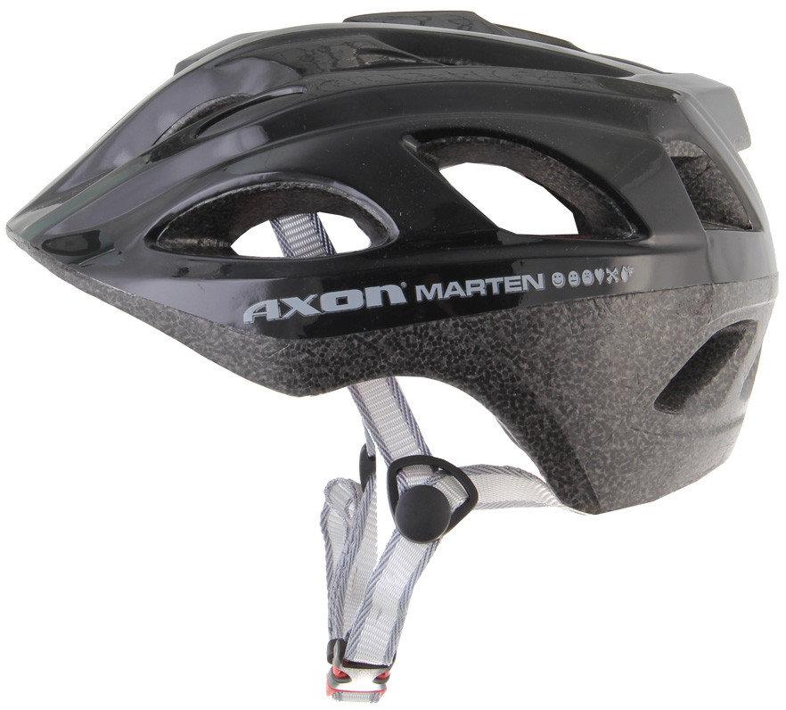 Černá cyklistická helma Axon - velikost 47-56 cm