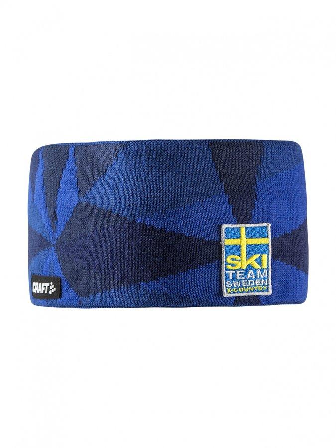 Modrá běžecká čelenka Ski Team Casual, Craft - velikost S-M