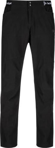 Černé pánské turistické kalhoty Kilpi - velikost M