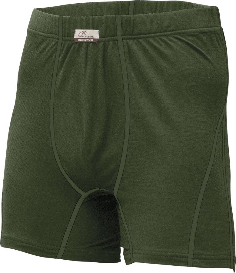 Zelené pánské boxerky Lasting - velikost 3XL - 1 ks