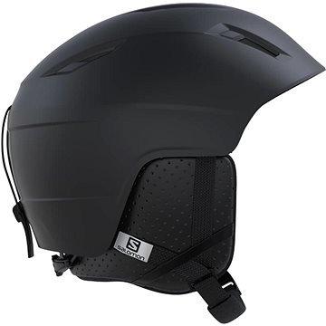 Černá pánská lyžařská helma Salomon - velikost 53-56 cm