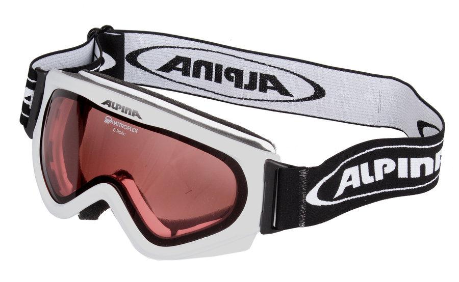 Lyžařské brýle - Alpina E-rotic bílá