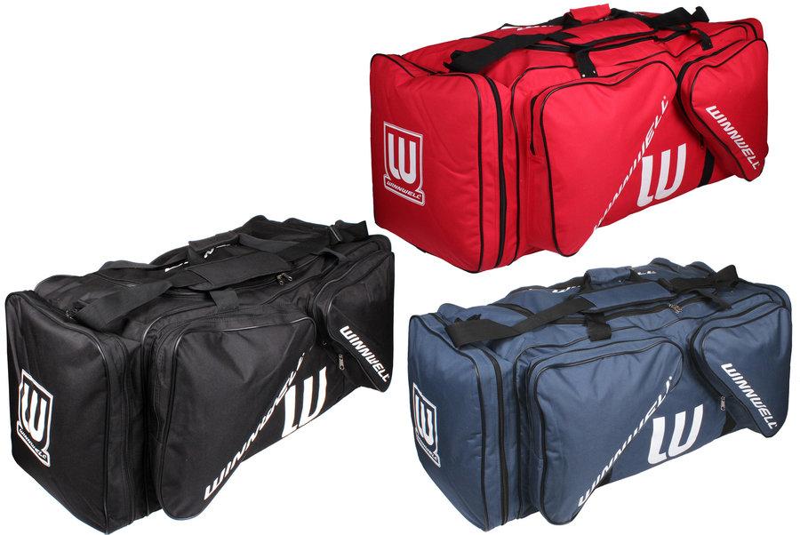 Hokejová taška - Winnwell Carry Bag černá junior